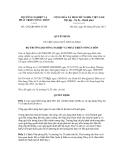 Quyết định số 1292/QĐ-BNN-TCCB