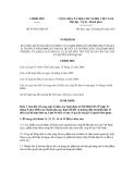 Nghị định số 85/2011/NĐ-CP