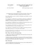 Thông tư số 127/2011/TT-BTC