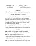 Quyết định số 1724/QĐ-TCHQ