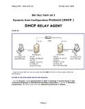 Bài thực hành số 2 Dynamic Host Configuration Protocol (DHCP )