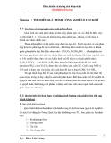 Điều khiển và khống chế lò tạo khí - phần 1