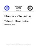 Electronics Technician Volume 4—Radar Systems