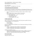 Môn : Hệ Điều Hành - Bài Thực Hành Số 7: Cài đặt HDH Linux + Boot Loader