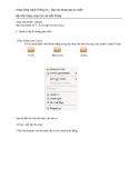 HỆ ĐIỀU HÀNH - Bài thực hành số 9 : Xứ lý tập tin trên Linux