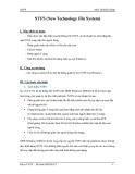 Môn Hệ Điều Hành -  NTFS (New Technology File System)
