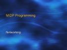 MIDP Programming
