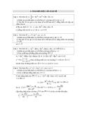 6 dạng toán thường gặp trong khảo sát hàm số