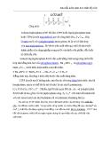 Bài tiểu luận môn học chất tẩy rửa