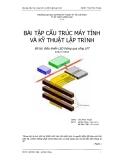 Bài tập Cấu trúc máy tính và Kỹ thuật Lập trình