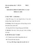Giáo án sinh học lớp 7 - Tiết 53: THỰC  HÀNH   XEM BĂNG HÌNH VỀ ĐỜI SỐNG VÀ