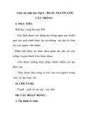 Giáo án sinh học lớp 6 - Bài 45: NGUỒN GỐC CÂY TRỒNG