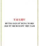Tài liệu Microsoft Word 2010
