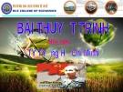 Ảnh hưởng của văn hoá Phương Đông đối với Tư tưởng Hồ Chí Minh