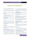 Từ điển Triệu chứng Symptom Dictionary