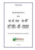 Bài tập giải tích 12 - Hàm số - Lũy thừa - Mũ - Logarit