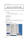 Tài liệu thực hành Vi xử lý  BÀI 1: PHẦN MỀM MÔ PHỎNG 8086 MICROPROCESSOR EMULATOR (EMU8086)