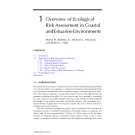 Coastal and Estuarine Risk Assessment - Chapter 1
