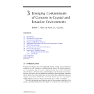 Coastal and Estuarine Risk Assessment - Chapter 3