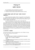 Lập trình C căn bản -  Kiểu mảng