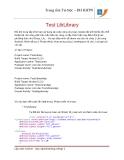 Lập trình Android: Tạo và chạy Library