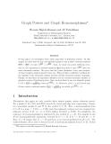 """Báo cáo toán học: """"Graph Powers and Graph Homomorphism"""""""