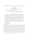 """Báo cáo toán học: """"Some design theoretic results on the Conway group ·0"""""""