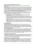 Memory-RAM - Một số thuật ngữ và kỹ thuật tin học