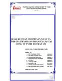 """Đề tài """" Nghiên cứu, khảo sát và đề xuất giải pháp nâng cao hoạt động xuất khẩu gạo của các doanh nghiệp Việt Nam """""""
