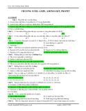 hóa học lớp 12 - Amin, aminoaxit, protein