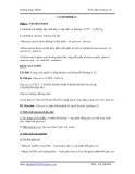 hóa học lớp 12-Lý thuyết cơ bản chương cacbohidrat