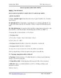 hóa học lớp 12-Lý thuyết phản ứng về kim loại kiềm, kiềm thổ, nhôm