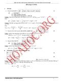 Hóa học lớp 12 - Một số công thức kinh nghiệm dùng giải nhanh bài toán Hóa học