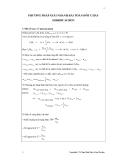 Phương pháp giải nhanh bài toán đốt cháy hidrocacbon lớp 12