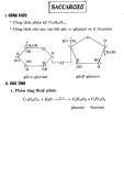 hóa học lớp 12-Saccarozo