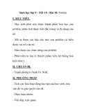 Sinh học lớp 9 - Tiết 18 - Bài 18: Prôtêin