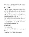 Sinh học lớp 9 - Bài 64: Tổng kết chương trình toàn cấp