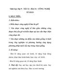 Sinh học lớp 9 - Tiết 32 - Bài 31: CÔNG NGHỆ TẾ BÀO