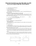 Giáo trình hình thành quy trình điều khiển các thiết bị lọc bụi trong kỹ thuật điều hòa không khí p1