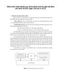 Giáo trình hình thành quy trình phân tích bộ giải mã lệnh các lệnh số học logic của bộ vi xử lý p1
