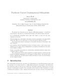 "Báo cáo toán học: ""Positively Curved Combinatorial 3-Manifolds"""