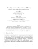 """Báo cáo toán học: """"Promotion and evacuation on standard Young tableaux of rectangle and staircase shape"""""""