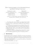 """Báo cáo toán học: """"More Counterexamples to the Alon-Saks-Seymour and Rank-Coloring Conjectures"""""""
