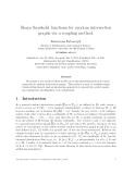 "Báo cáo toán học: ""Sharp threshold functions for random intersection graphs via a coupling method"""