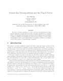 """Báo cáo toán học: """"Convex-Ear Decompositions and the Flag h-Vector"""""""