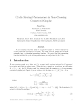 """Báo cáo toán học: """" Cyclic Sieving Phenomenon in Non-Crossing Connected Graphs"""""""