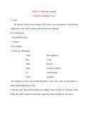 Giáo án Tiếng Anh lớp 10: Unit 1: A visit from a penpal Lesson 6: Language Focus