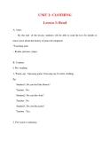 Giáo án Tiếng Anh lớp 10: UNIT 2: CLOTHING Lesson 3: Read