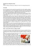 """Tiểu luận môn tư tưởng Hồ Chí Minh: """"Vấn đề con đường cách mạng trong tư tưởng Hồ Chí Minh về cách mạng giải phóng dân tộc."""""""