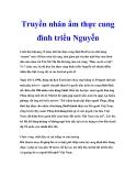 Truyền nhân ẩm thực cung đình triều Nguyễn